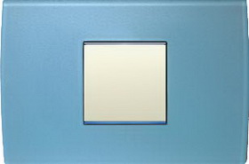 Cover plate PURE ice blue